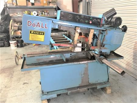 Do All C-916A Band Saw Semi Automatic