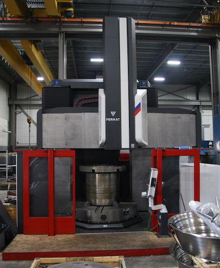 Fermat FTL V2600 CNC Vertical Borer.