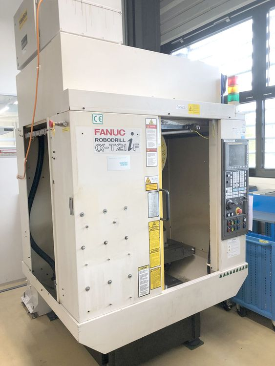 Fanuc a-T21iF 3 Axis
