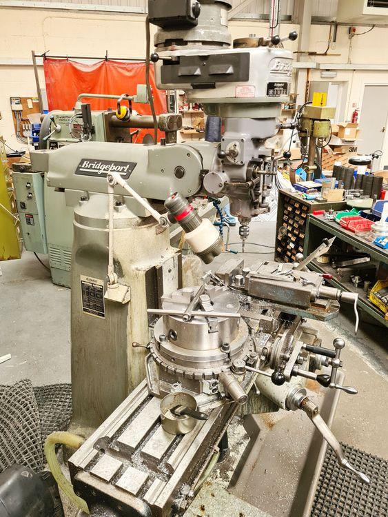 Bridgeport BRJ TURRET MILL R8 VERTICAL 2300 rpm