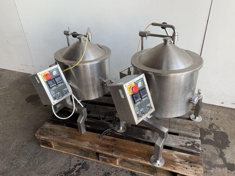 2 Savage Firemixer 14 heated mixing vessel