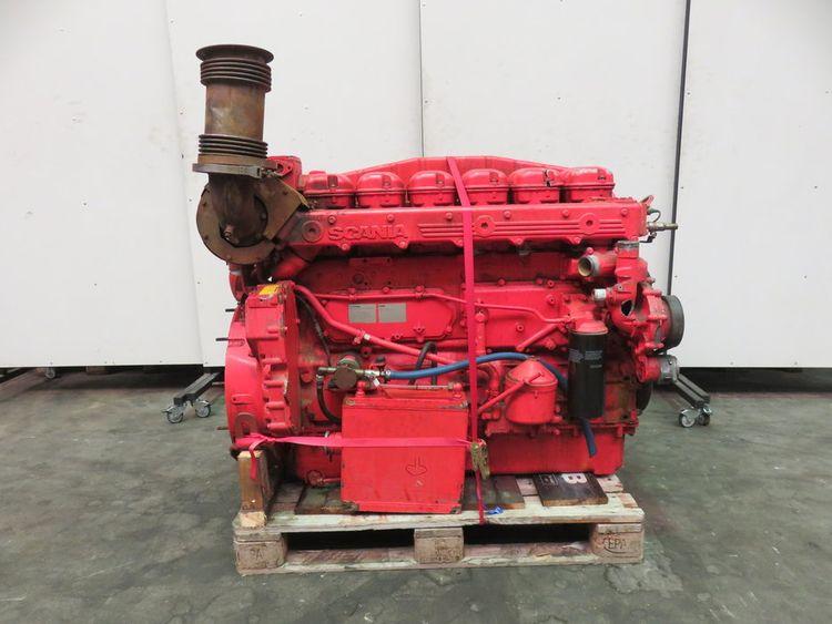 Scania DI12-65M - CCNR2 Marine diesel engine