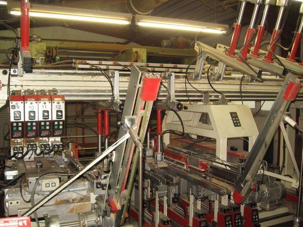 MAW, Nottmeyer Throughfeed boring machine