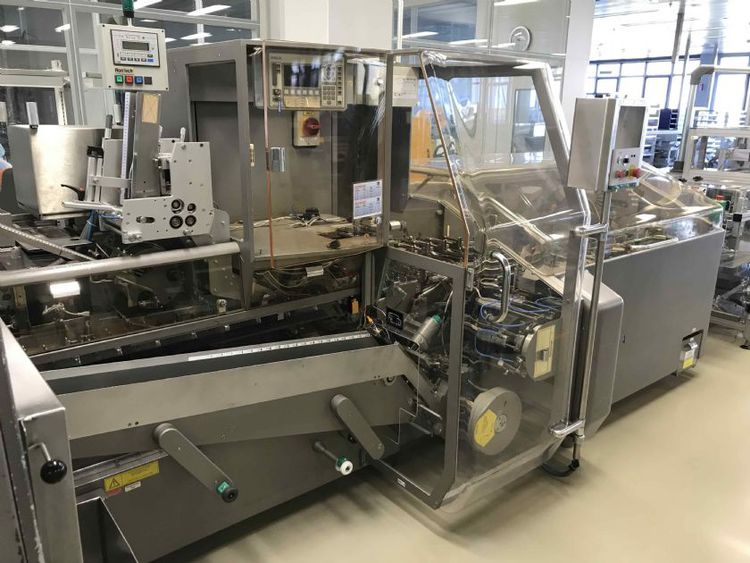 MARCHESINI MB 440 - MA 355  blister line Marchesini with cartoner and check weigher
