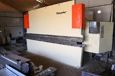 Beyeler CNC PRESS BRAKE EURO II PS 150/4100 150 T