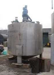 T.Bibby & Co 10,000 Litre Stainless Steel Mixing Vessel
