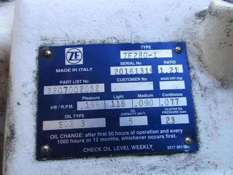 2 ZF Hurth Marine 280