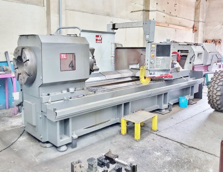 Haas Semi Automatic 500 RPM TL-4 2 Axis