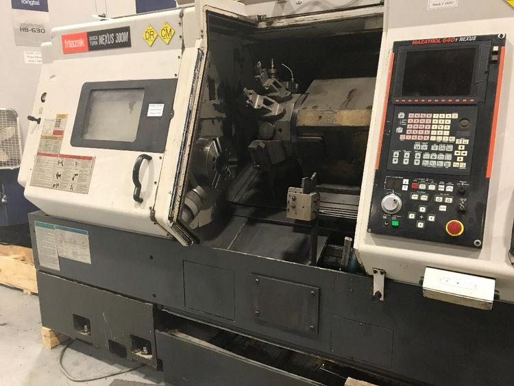 Mazak MAZATROL 640T MATRIX NEXUS CONTROL 4000 RPM QTN-300M TURNING CENTER 3 Axis