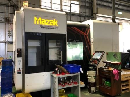 Mazak Integrex i200S Multi-Axis