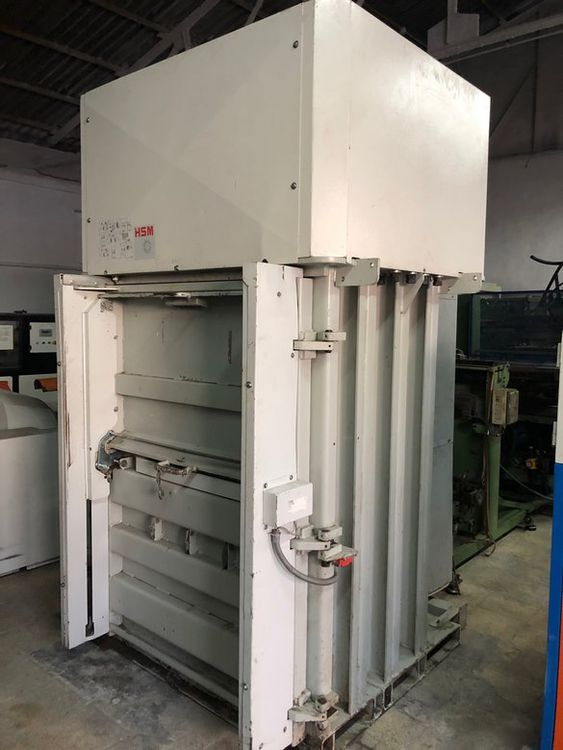 HSM 600 VL Vertical hydraulic bullet press