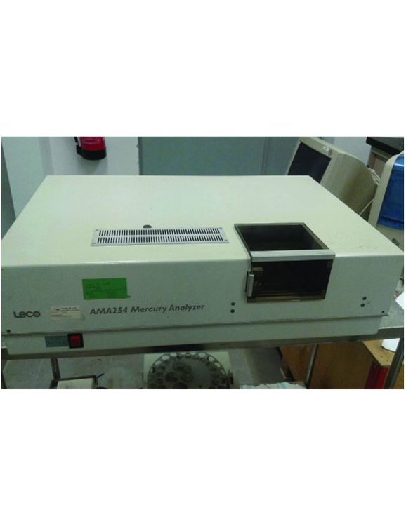 Leco AMA 254, Mercury analyzer