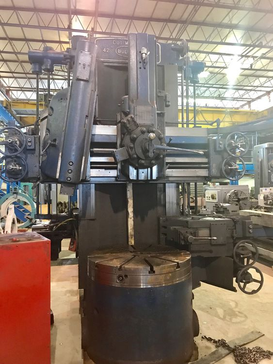 "Bullard 42"" Cutmaster High Column Vertical Boring Mill"