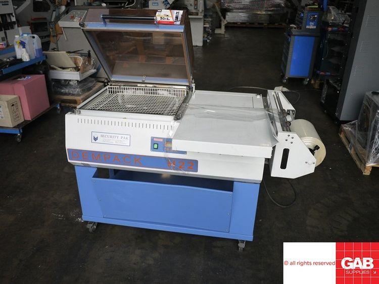 DEM H22, All in one shrink wrap machine 28 x 35 cm