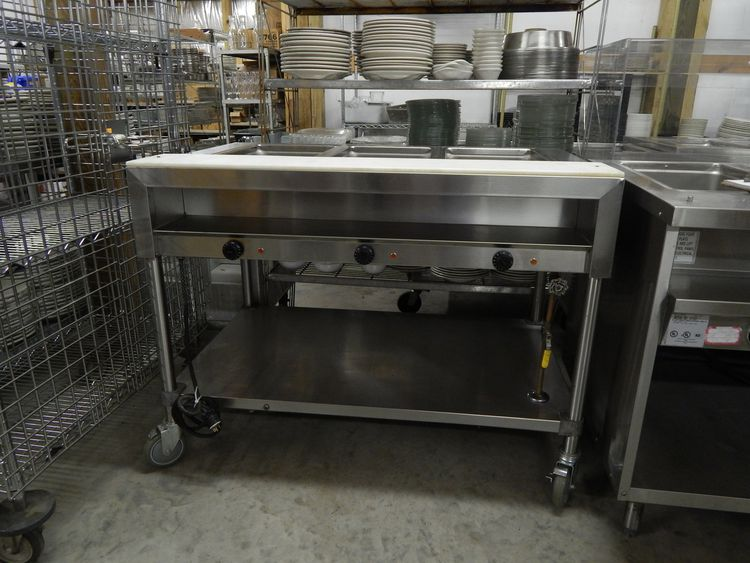 Delfield 3 Well Steam Table