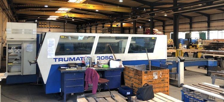 Trumpf TC L 3050 - 5000W 2002 Siemens Sinumerik 840 D