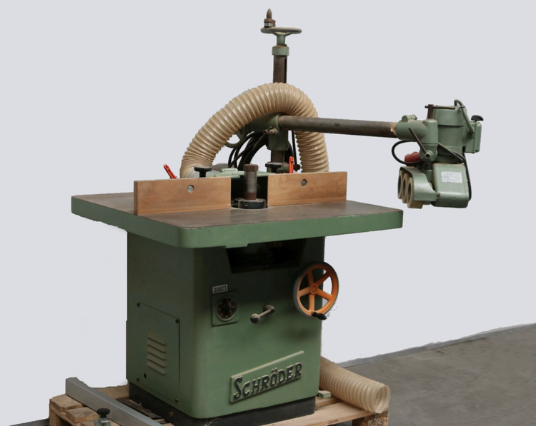 Schroders Rigid spindle milling machine