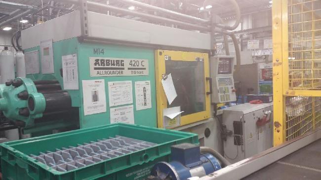 Arburg 420C1000-150/60 110 Ton