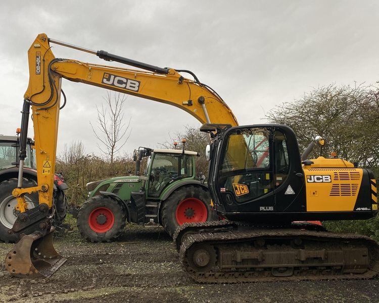JCB JS160LC Plus Excavator