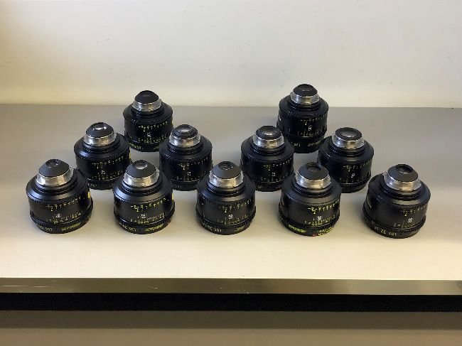 ZEISS LDS Ultra Primes Set of 11 Lens