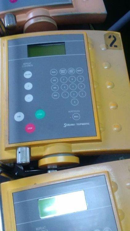 2 Uster TPM201 Knotting machines