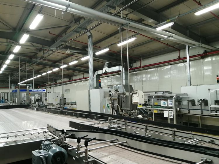 Sidel PET FILLING LINE FOR STILL AND CARBONATED WATER