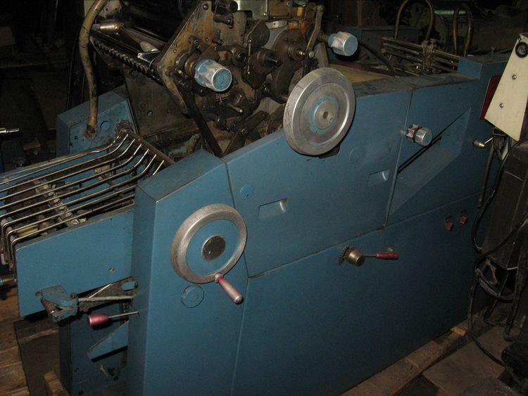 "Chief 117, 1 color Offset machine 11"" X 17"""