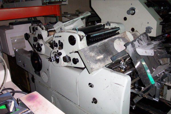 Hamada 500 CDA, 2 colors Offset machine