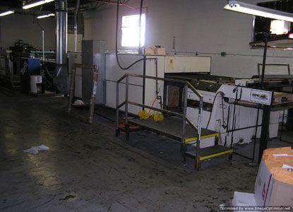 Sakurai SC 102 DX   Cylinder Screen Printing Press