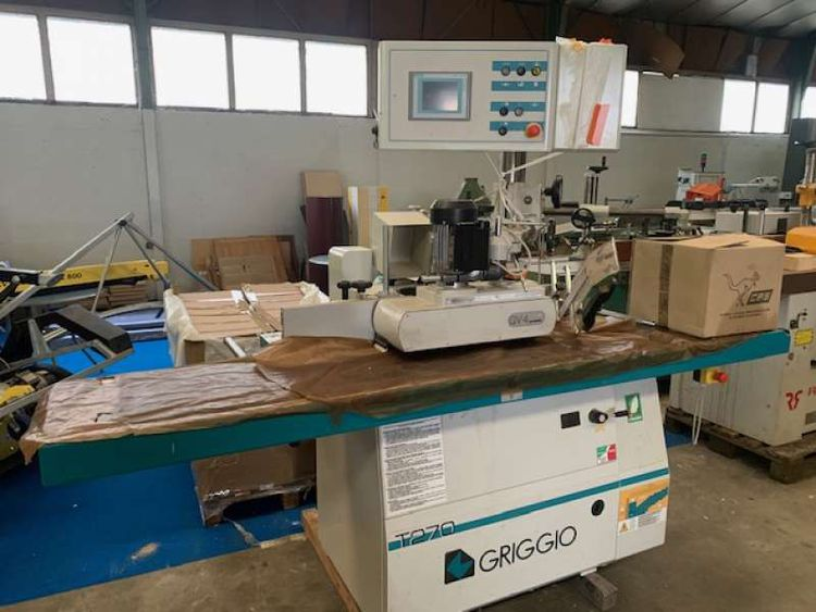Griggio Digitized spindle moulder with trainer