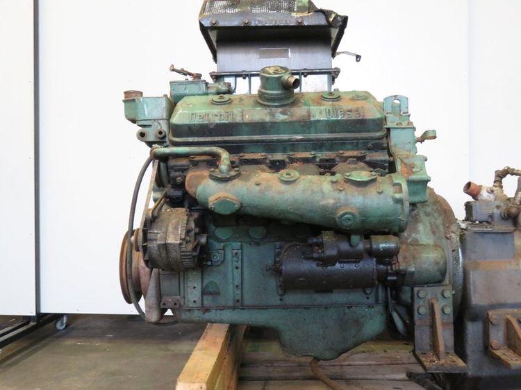 Detroit DIESEL 8V-92N Diesel Marine Engine