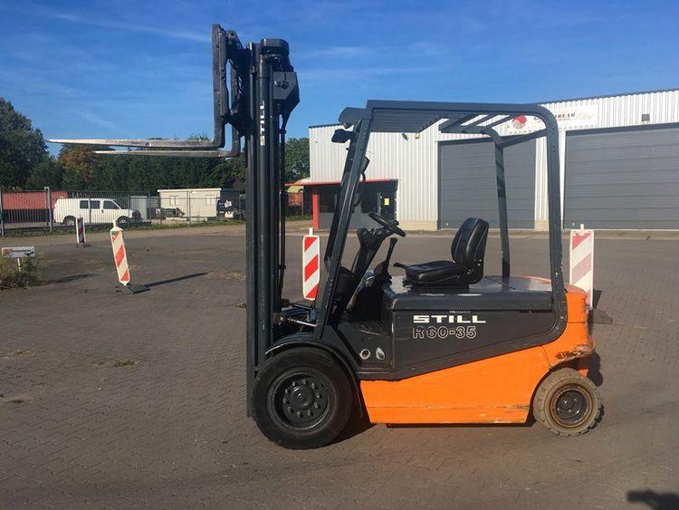 Still R60-35 FORKLIFT TRUCK ELECTRIC 3500kg