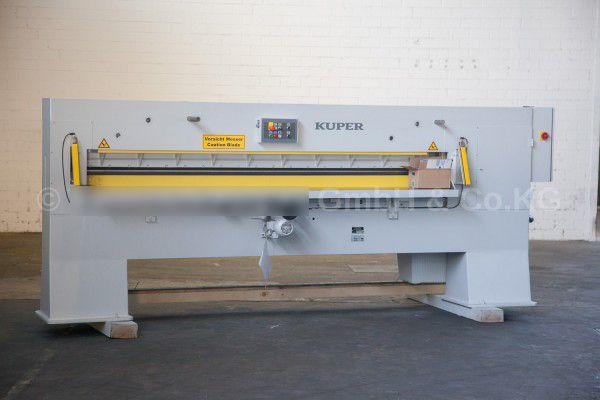 Josting EFS 2800 veneer guillotine
