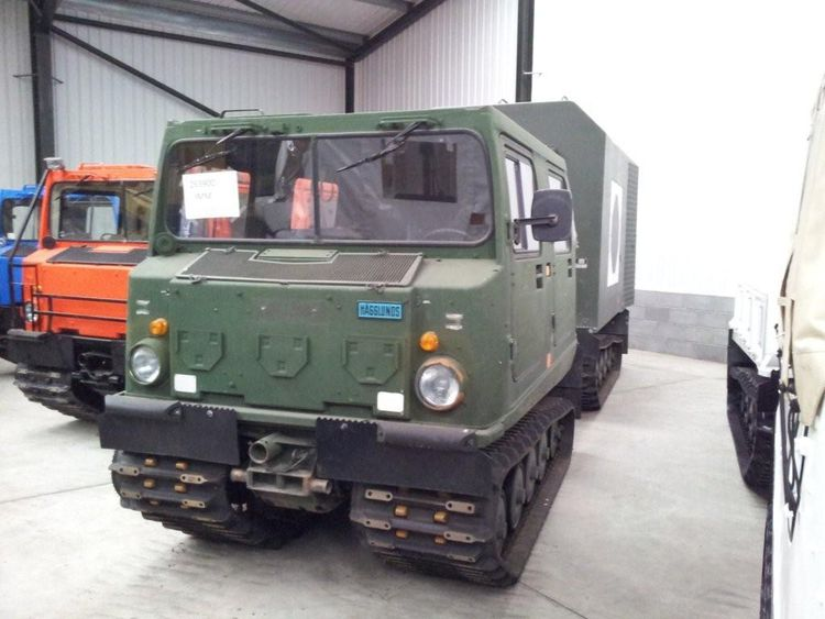 2 Hagglunds Bv206 Ambulance / Mobile Theatre Unit