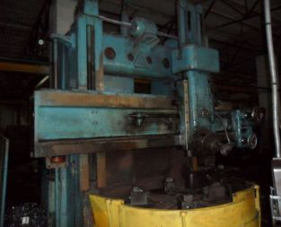TOS SK-12 Vertical turning lathe