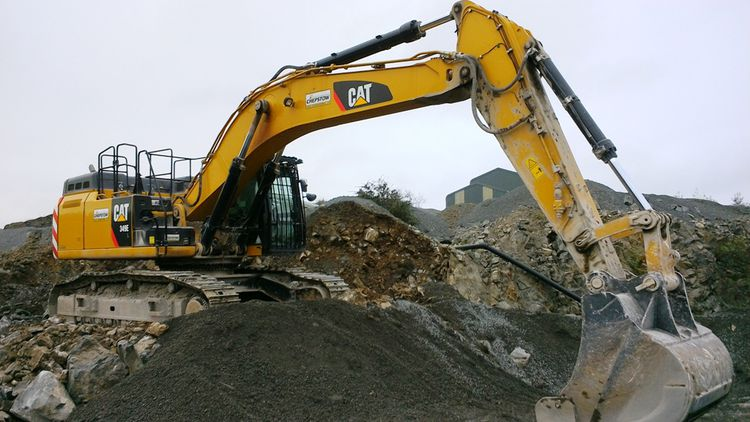 Caterpillar 349EL Excavator - Tracked