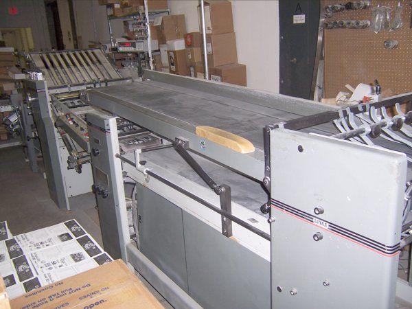 Baum LEGEND B26, Folding machine