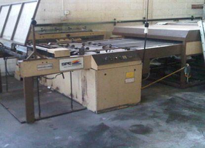 Sakurai SC-102A silkscreen press  Max. 72 x 102 cm Cylinder Screen Printing Press