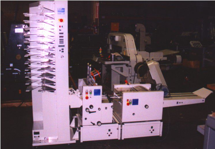 AB Dick BOURG - 12 BIN, Collator
