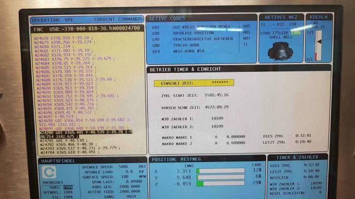 Haas VF 11/50 3 Axis