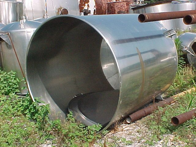 Others Stainless Steel Cone Bottom Tank