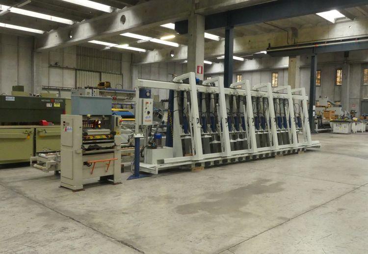 Casolin STR 250, Laminating Press