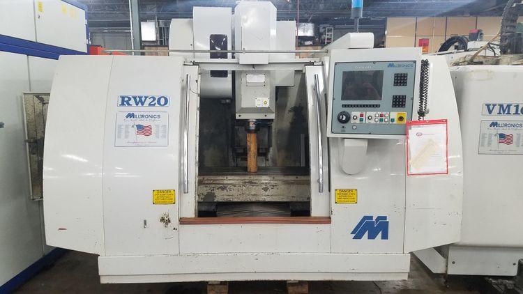 Milltronics RW-20 Vertical Machining Center 3 Axis