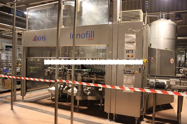 KHS Innofill DMG / SVF 120/16, Glass Bottle Filling Machine