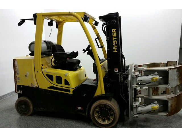 Hyster S120FTS 12,000 Pounds CASCADE PAPER CLAMP