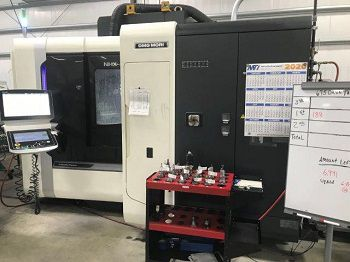 DMG Mori NHX 4000 CNC Horizontal Machining Center 4-Axis