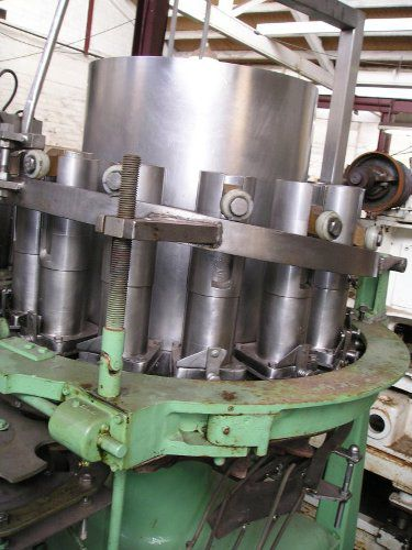 Pfaudler 14 head rotary piston filler