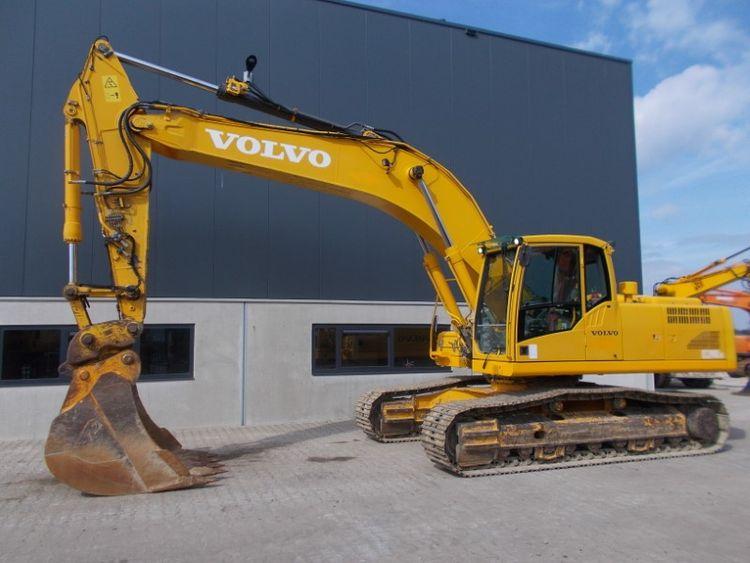 Volvo EC290C NL Tracked Excavator