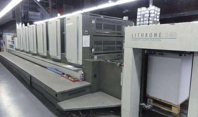 Komori LS640+CX 28 x 40 inch