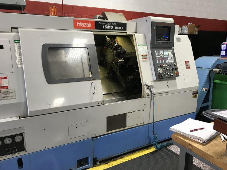 Mazak MAZATROL T-PLUS 5000 rpm QUICK TURN 15MS MARK II 3 Axis